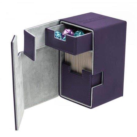 Ultimate Guard Ultimate Guard Flip'n'Tray Deck Case Xenoskin 100+ Purple