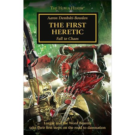 Black Library The Horus Heresy 14: The First Heretic (Pocket)