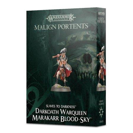 Games Workshop Age of Sigmar Slaves to Darkness: Darkoath Warqueen Marakarr Blood-sky (Malign Portents)