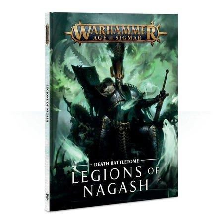 Games Workshop Age of Sigmar 2nd Edition Rulebook Death Battletome: Legions of Nagash (HC)