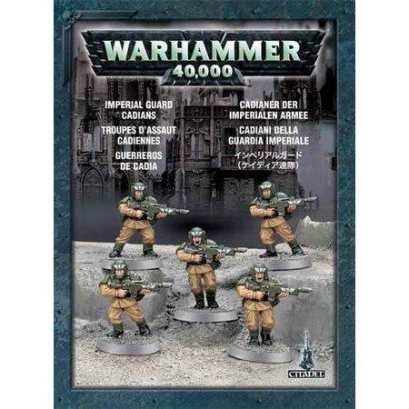 Games Workshop Warhammer 40,000 Imperium Astra Militarum: Cadians (x5)