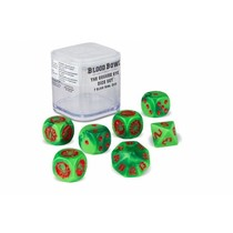 Blood Bowl: The Gouged Eye Dice Set