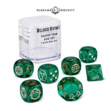 Games Workshop Blood Bowl: Skaven Team Dice Set