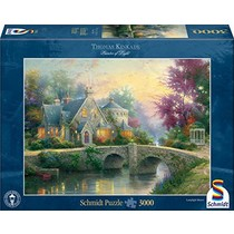 Thomas Kinkade: Lamplight Manor (3000)
