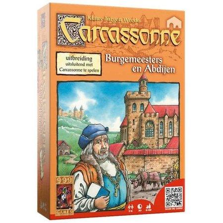 999-Games Carcassonne - Burgemeesters en Abdijen