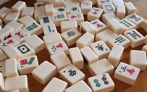Mahjong demonstratie in De Dobbelsteen Tilburg.