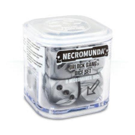Games Workshop Necromunda: Orlock Gang Dice Set