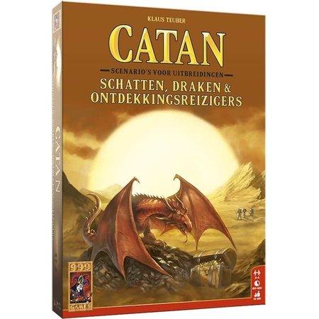 999-Games Kolonisten van Catan 6e Editie: Schatten, Draken & Ontdekkingsreizigers