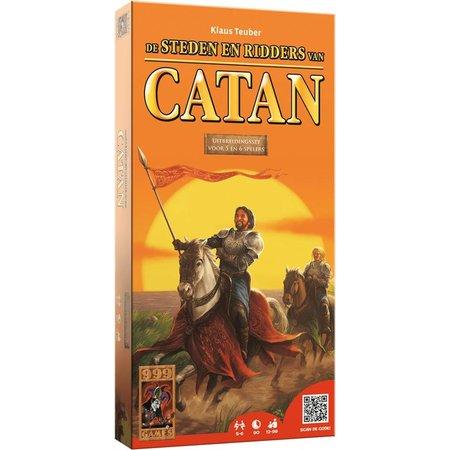 999-Games Kolonisten van Catan 6e Editie: Steden & Ridders 5-6 Spelers