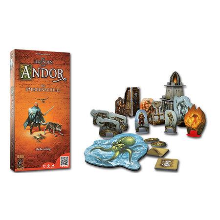 999-Games Het sterrenschild uitbreiding op De legenden van Andor