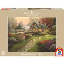 Thomas Kinkade: Make a Wish Cottage (1000)