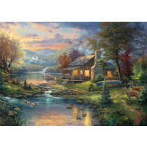 Thomas Kinkade: Nature's Paradise (1000)