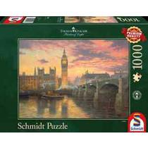 Evening mood in London, Thomas Kinkade (1000)
