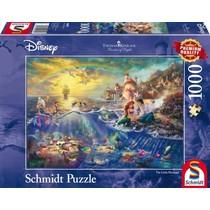 Disney Kleine Zeemeermin, Arielle - Thomas Kinkade (1000)