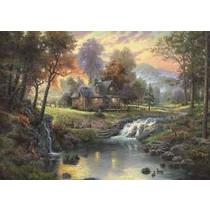 Thomas Kinkade: Mountain Retreat (1000)