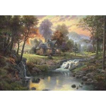 Schmidt Thomas Kinkade: Mountain Retreat (1000)