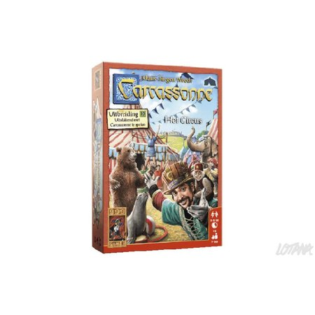 999-Games Carcassonne Het Circus Nieuw