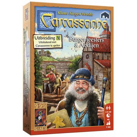 999-Games Carcassonne Burgemeesters en Abdijen Nieuw