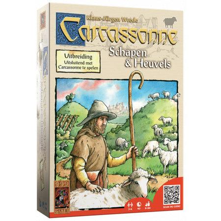 999-Games Carcassonne: Schapen en Heuvels (oud)