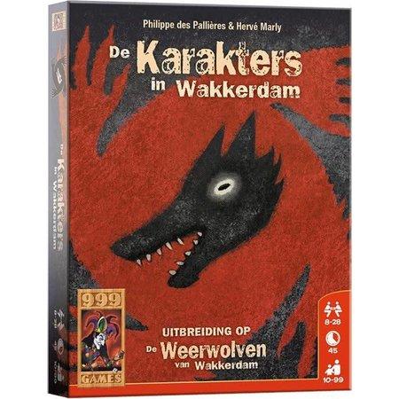 999-Games Weerwolven van Wakkerdam Karakters