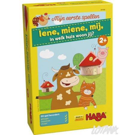 Haba Mijn eerste spellen: Iene, miene, mij