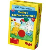 Mijn Eerste Spellen: Teddy's Kleuren en Vormen