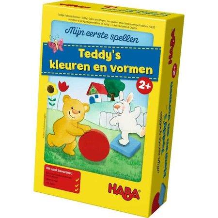 Haba Mijn Eerste Spellen: Teddy's Kleuren en Vormen