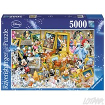 Mickey als kunstenaar 5000