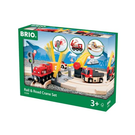 Brio Brio: Rail & Road Travel Set