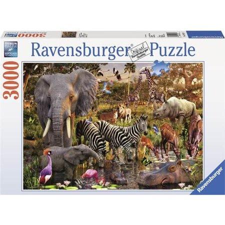 Ravensburger Afrikaanse Dierenwereld (3000)