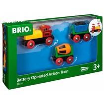 Brio - Actietrein met B/O Locomotief