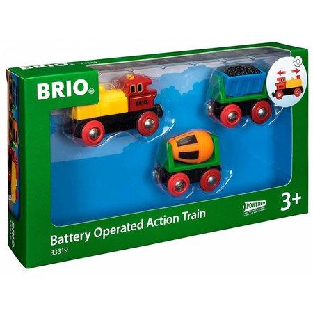 Brio Brio Actietrein met B/O Locomotief**