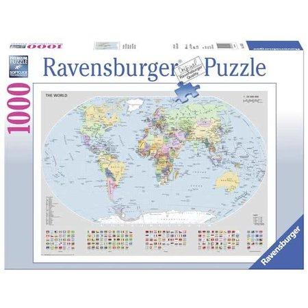 Ravensburger Staatkundige Wereldkaart (1000)
