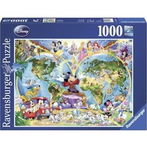 Disney's Wereldkaart (1000)