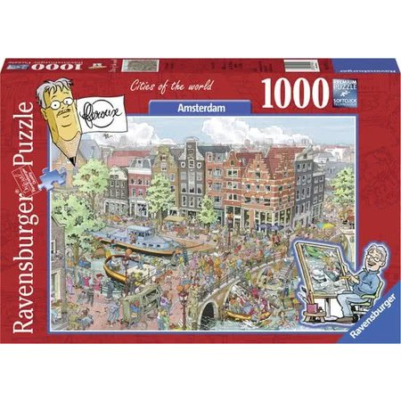 Ravensburger Fleroux: Amsterdam  (1000)