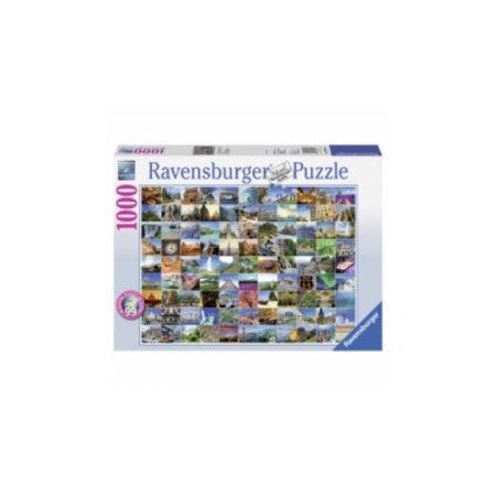 Ravensburger 99 Mooie plekken op Aarde (1000)