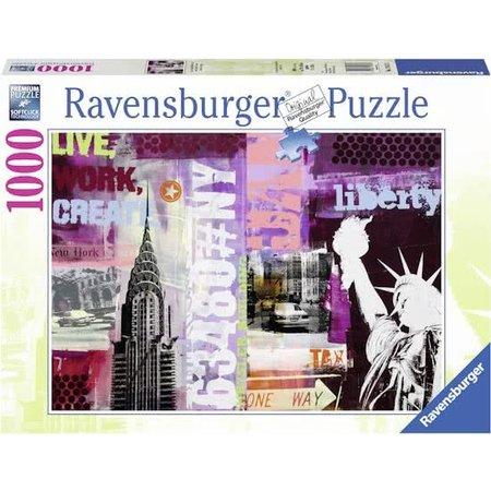 Ravensburger Style Collage New York City (1000)