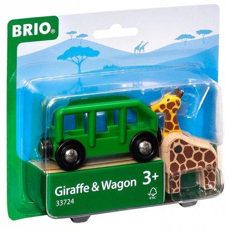 Brio Brio - Safari Wagon & Animal
