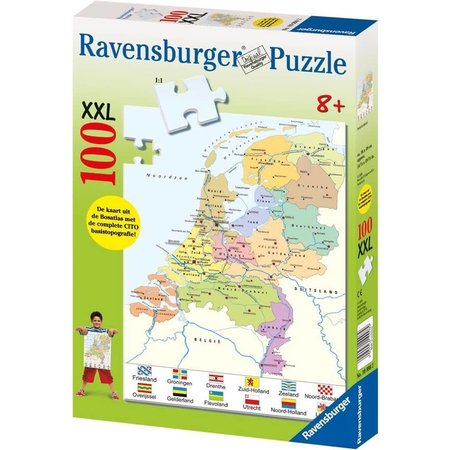 Ravensburger Nederland kaart (100)