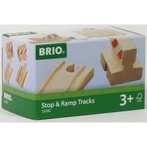 Brio: Stop en Ramp Track