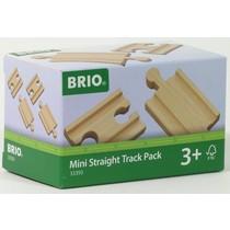 Brio: Mini straight Track Pack
