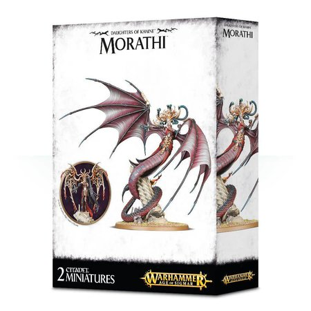 Games Workshop Age of Sigmar Aelves Daughters of Khaine: Morathi, The High Oracle of Khaine/the Shadow Queen