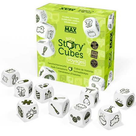 Rory's Story Cubes Rory's Story Cubes Max - Voyages
