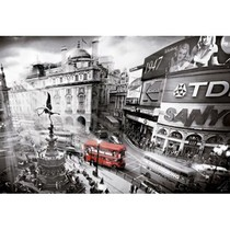 Piccadilly Circus - zwart wit (1000)