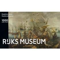 Rijksmuseum: Zeeslag van Gibraltar in 1621 (1000)*