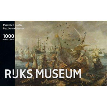Puzzelman Rijksmuseum: Zeeslag van Gibraltar in 1621 (1000)*