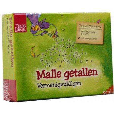 Scala Malle Getallen - Vermenigvuldigen**