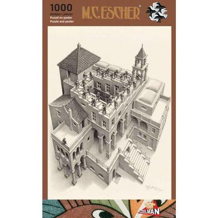 Puzzelman Escher: Klimmen en Dalen (1000)