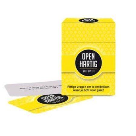 Open Up! Openhartig - Go for it!