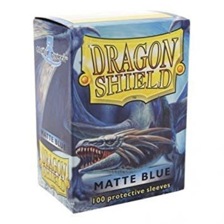 Arcane Tinman Dragon Shield Sleeves: Matte Blue